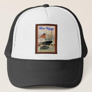 Vintages Reise-Plakat Truckerkappe
