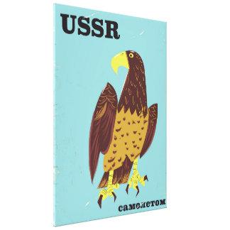 Vintages Reiseplakat UDSSR-Adlers Leinwanddruck