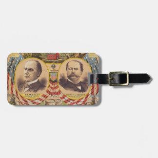 Vintages republikanisches gepäckanhänger