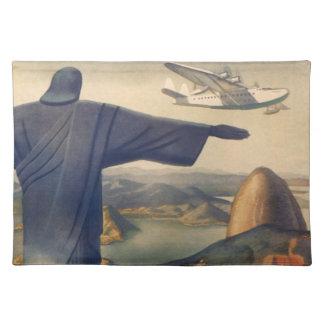 Vintages Rio de Janeiro, Christus die Tischset