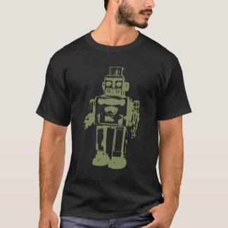 Vintages Robotert-stück T-Shirt