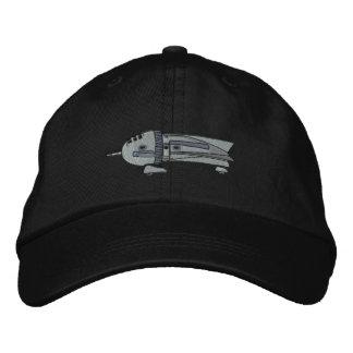 Vintages Rocket-Schiff Bestickte Caps
