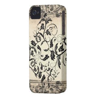 Vintages Rolle-BlackBerry-mutiger 9700/9780 Kasten iPhone 4 Case-Mate Hülle