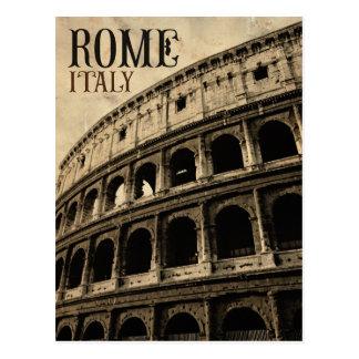 Vintages Rom Italien Postkarte