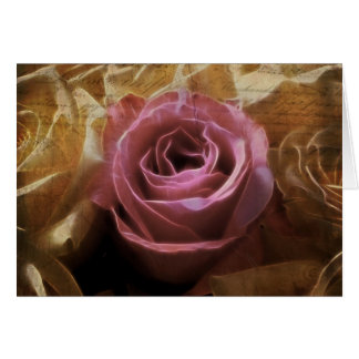Vintages romantisches einer netten Liebe, eine Sin Grußkarte