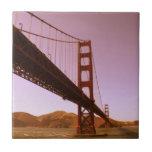 Vintages rosa Golden Gate Brücke Foto redigieren Fliesen