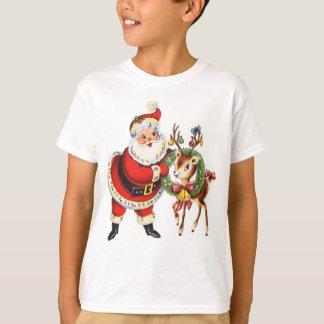 Vintages Sankt- und Ren-Shirt T-Shirt