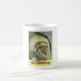 Vintages Santa Fe New-Mexiko die Hauptweise Kaffeetasse