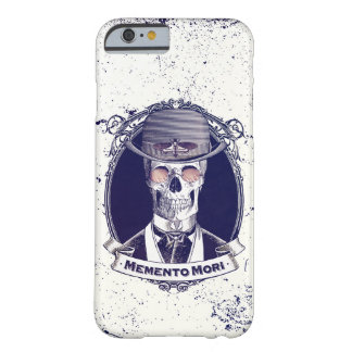 Vintages Schädel-Kunst-Memento Mori Barely There iPhone 6 Hülle