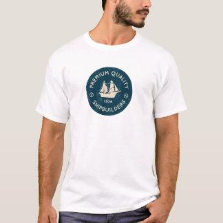 Vintages Schiffbauer-Shirt T-Shirt