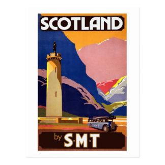 Vintages Schottland Postkarten