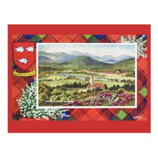 Vintages Schottland, Robertson, Balmoral Postkarte