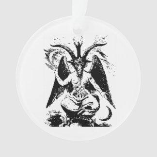 Vintages schwarzes Baphomet Ornament