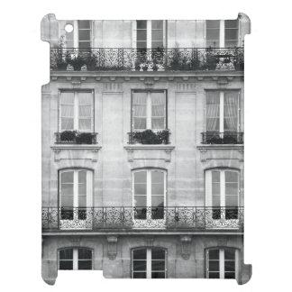 Vintages Schwarzweiss-Gebäude der Reise-| in Paris iPad Hülle