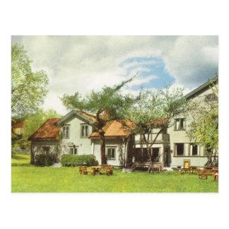 Vintages Schweden, Jugend-Herberge, Sigtuna Postkarte