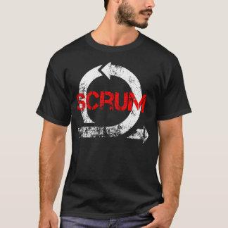 Vintages Scrum-T-Stück T-Shirt