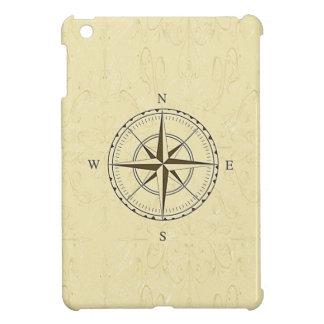 Vintages Seekompass-Elfenbein iPad Mini Hülle