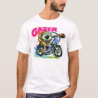 Vintages Siebzigerjahre StickerArt T-Stück T-Shirt