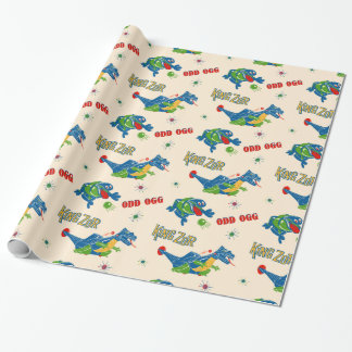 Vintages sonderbares Ogg - Verpackungs-Papier Geschenkpapier