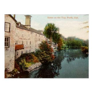 Vintages Spalding&Stewart Distillary Perth Ontario Postkarte