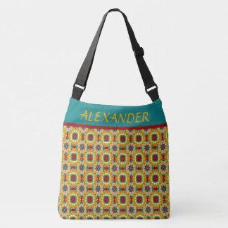 Vintages Spiel-Brett-personalisierte Windel-Tasche Tragetaschen Mit Langen Trägern
