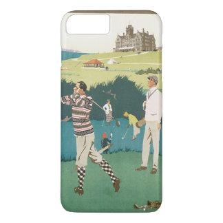 Vintages Sport-Golf in Schottland, iPhone 8 Plus/7 Plus Hülle