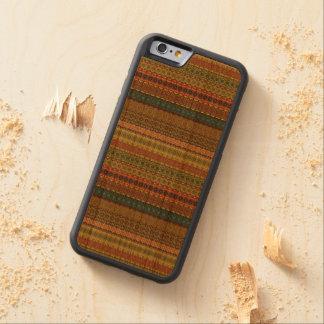 Vintages Stammes- aztekisches Muster Bumper iPhone 6 Hülle Kirsche
