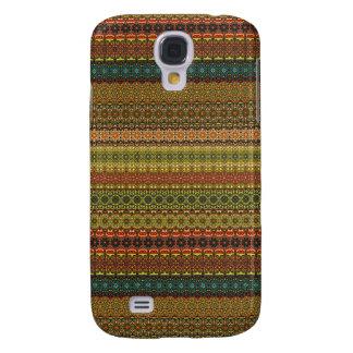 Vintages Stammes- aztekisches Muster Galaxy S4 Hülle