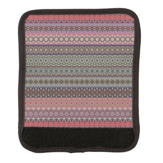 Vintages Stammes- aztekisches Muster Gepäck Markierung
