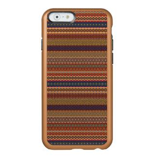 Vintages Stammes- aztekisches Muster Incipio Feather® Shine iPhone 6 Hülle