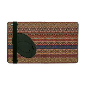Vintages Stammes- aztekisches Muster iPad Etui