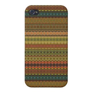 Vintages Stammes- aztekisches Muster iPhone 4/4S Hülle