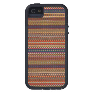 Vintages Stammes- aztekisches Muster iPhone 5 Etui