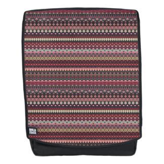 Vintages Stammes- aztekisches Muster Rucksack