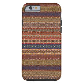 Vintages Stammes- aztekisches Muster Tough iPhone 6 Hülle