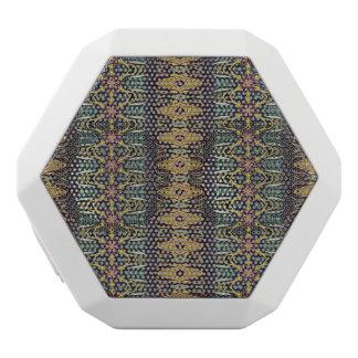 Vintages Stammes- aztekisches Muster Weiße Bluetooth Lautsprecher