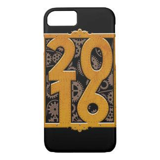Vintages Steampunk 2016 iPhone 8/7 Hülle