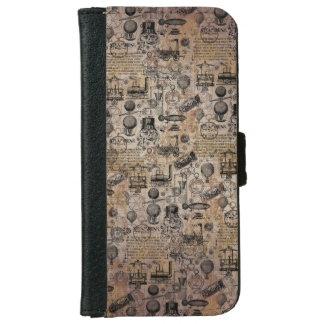Vintages Steampunk Geldbeutel Hülle Für Das iPhone 6/6s