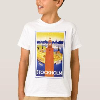Vintages Stockholm Schweden T-Shirt