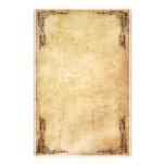 Vintages Strudel-Briefpapier Individuelles Druckpapier