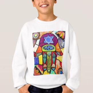Vintages Tapastry Hamsa Sweatshirt