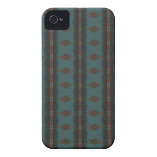 Vintages Tapeten-BlackBerry-mutiger Kasten iPhone 4 Cover