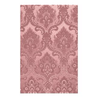 Vintages Tapeten-Muster-Rosa Druckpapier