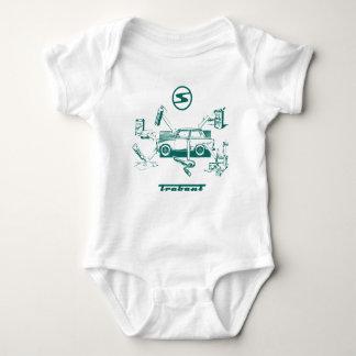 Vintages trabant baby strampler