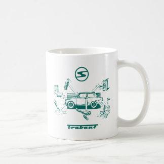 Vintages trabant kaffeetasse