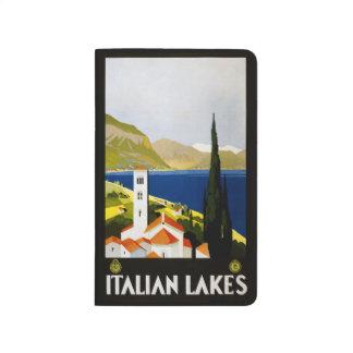 Vintages Travel italienische Taschennotizbuch