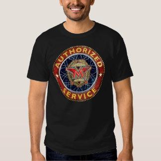 Vintages unvergleichliches Motorradservice-Zeichen Shirt