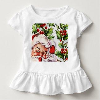 Vintages Vater-Weihnachten Weihnachtsmanns Kleinkind T-shirt