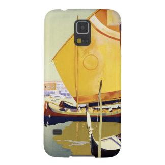 Vintages Venedig-Reise-Plakat Galaxy S5 Hülle