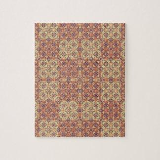 Vintages verziertes Barock Puzzle